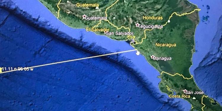 Alertan sobre posible tsunami tras sismo de 4.8 en el Pacífico, frente a las costas de CA