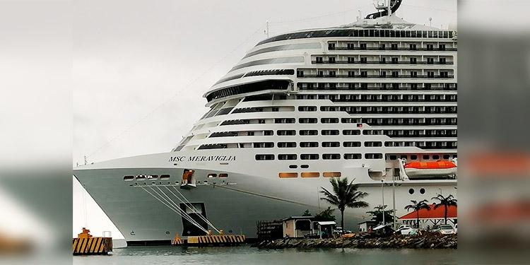 Llega a Roatán el crucero 'MSC Meraviglia' con más de 4 mil turistas a bordo