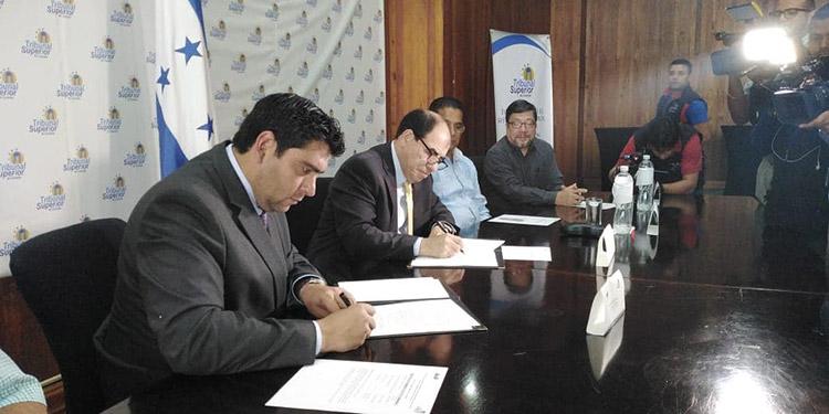 RNP y TSC firman convenio de cooperación interinstitucional