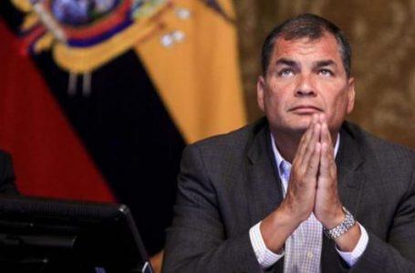 Ecuador: Rafael Correa afirma que su sentencia fue una jugada política para que no participe en las próximas elecciones