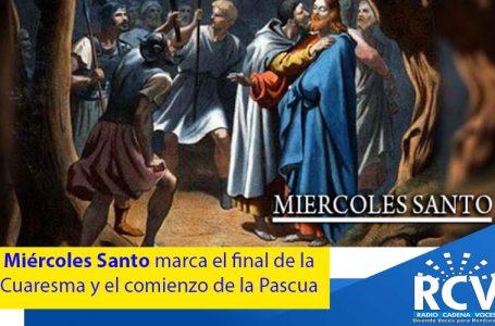 La primera parte de la Semana Santa cristiana llega a su fin con la celebración del Miércoles Santo